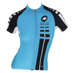 ASSOS SS.LADY JERSEY - SHORT-SLEEVE - WOMEN'S XL BLU Calypso