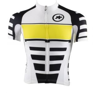 ASSOS  SS Corporate S7 Yellow Volt Xtra Small