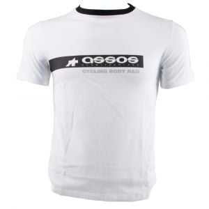 Assos T-shirt R&D+R White Xtra Small