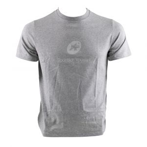 Assos Sponsor Yourself T-Shirt - Short-Sleeve - Men's Grigio Melange, L - Men's