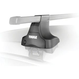 Thule 480 Traverse Foot Pack Tower Set: Fits Rectangular Bars 4-Pack
