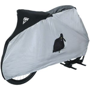 Topeak Bike Cover for 26  MTB Bikes White/Black
