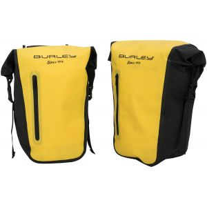 Burley Coho Pannier: Pair, Yellow/Black