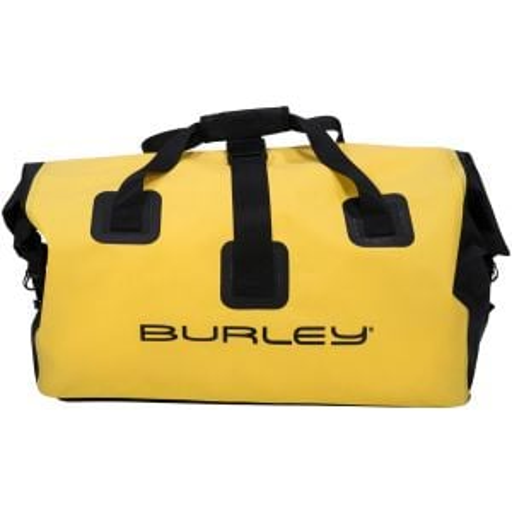Burley Coho Dry Bag: Yellow/Black