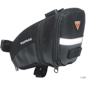 Topeak Aero Wedge Seat Bag: Medium Black