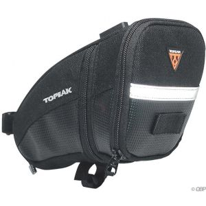 Topeak Aero Wedge Seat Bag: Large Black