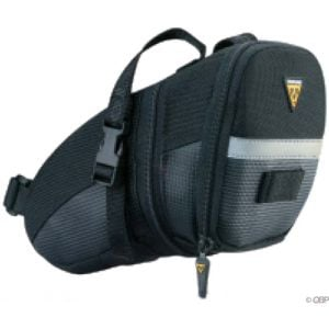 Topeak Aero Wedge Seat Bag Strap/On: Large Black