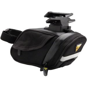 Topeak Aero Wedge DX Seat Bag with Mount: Small Black