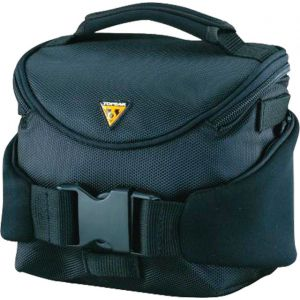 Topeak Compact Handlebar Bag/Fanny Pack with Fixer 8 Black