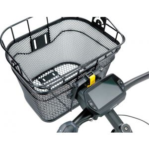Topeak Front Basket with Fixer 3 Handlebar Bracket: Black