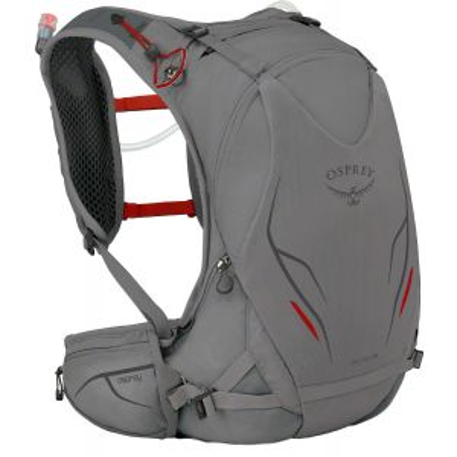 Osprey Duro 15 Run Hydration Pack: Silver Squall, SM/MD