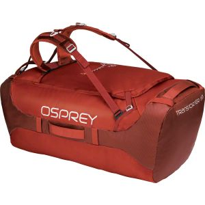 Osprey Transporter 130 Duffel Bag Ruffian Red