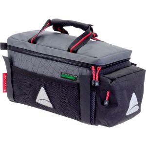 Axiom Seymour Oceanweave P9 Trunk Bag: Gray/Black