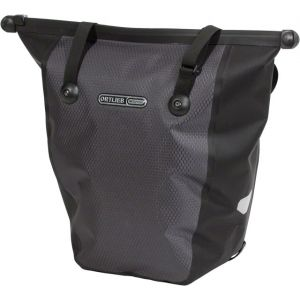 Ortlieb Bike Shopper Pannier: Each QL2 Hardware Slate/Black