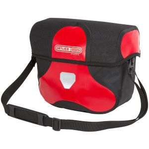 Ortlieb Ultimate 6 Classic Handlebar Bag: Medium 7 Liter Red