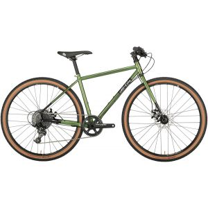 All-City Macho Man Disc Flatbar 700c Complete Bike 52cm Olive Fab