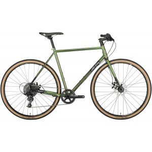 All-City Macho Man Disc Flatbar 700c Complete Bike 55cm Olive Fab