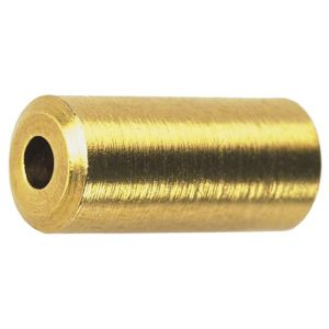 Wheels Manufacturing Brass Housing End Caps 5.0mm Bottle of 50