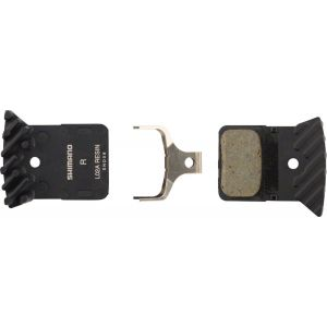Shimano L02A Resin Disc Brake Pads with Fin for Flat Mount BR-RS805 BR-