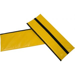 Burley Rental Cub Seat Pad: Yellow For 2014-Present Rental Cub Models