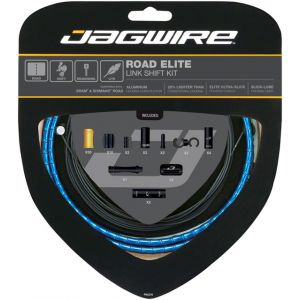 Jagwire Road Elite Link Shift Cable Kit SRAM/Shimano with Ultra-Slick Uncoated