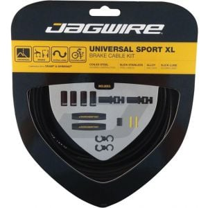 Jagwire Universal Sport Brake XL Kit Black