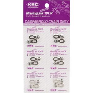 KMC MissingLink 10CR: for Campagnolo 10-Speed Chains Silver
