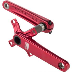 Promax CF-2 Cold Forged 2 Piece Crank 24 x 160mm Red