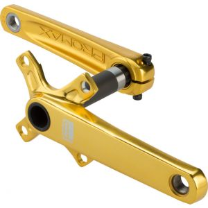 Promax CF-2 Cold Forged 2 Piece Crank 24 x 165mm Gold