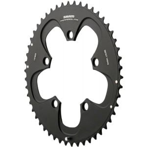 SRAM Red/Force 50T 110mm Black Chainring  Use with 34T - 10 Speed