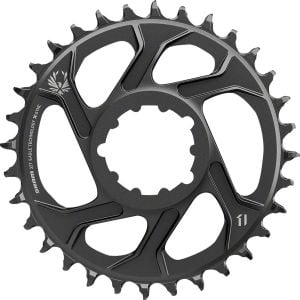 SRAM X-Sync 2 Eagle Chainring 32T Direct Mount 3mm Offset Boost Black