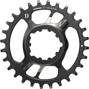 SRAM X-Sync Steel Direct Mount Chainring 28 Teeth 6mm Offset Black