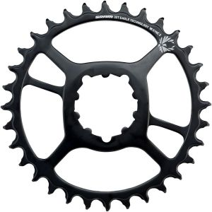 SRAM X-Sync 2 Steel Eagle Chainring 30t Direct Mount 6mm Offset Black