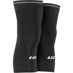 Louis Garneau Knee Warmer 2: Pair~ Black~ XL