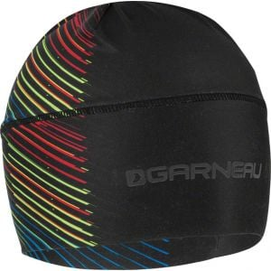 Louis Garneau Method Men's Hat: Black/Multi-Color One Size