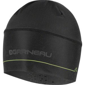 Louis Garneau Method Men's Hat: Black/Yellow One Size