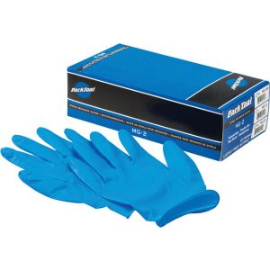Park Tool MG-2 Nitrile Gloves Box of 100 Large Size