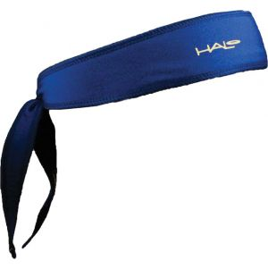 Halo I Tie Headband: Royal Blue