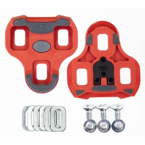 Look Keo Grip Cleats Red 9° Float