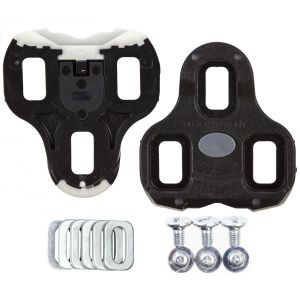 Look Keo Bi-Material Cleats Black 0° Float