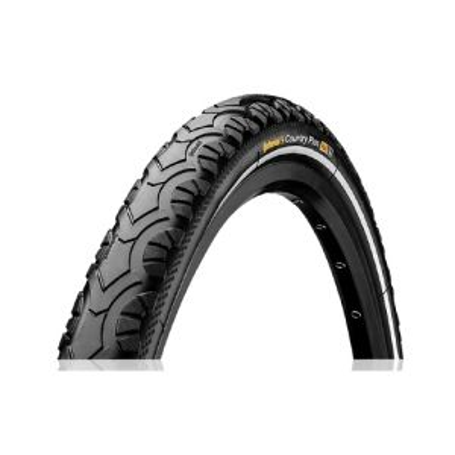 Continental Country Plus II Tire 26x1.9 Black Reflex Wire Bead