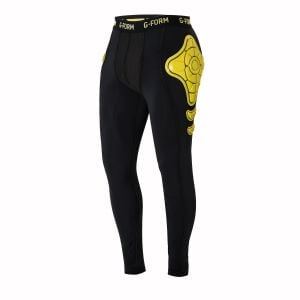 G-Form Pro-X Thermal Pants: Yellow/Black L