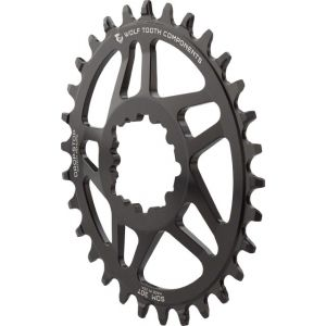 Wolf Tooth Components 34t Direct Mount Drop-Stop Chainring for SRAM BB30