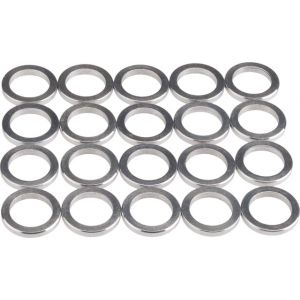 Wheels Manufacturing 2.0mm Aluminum Chainring Spacer Bag/20