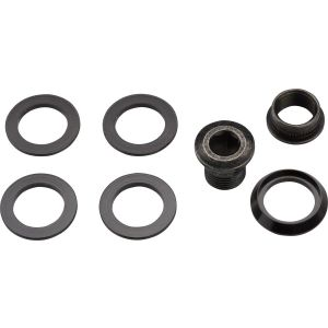 SRAM Force 1/ CX1 Chainring Spacer and Bolt Set: Five Spacers and Hidden