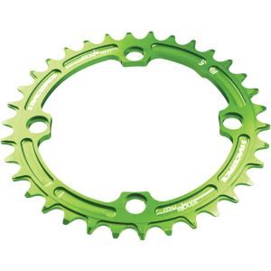 Race Face Narrow-Wide Single Ring 34t x 104 Green