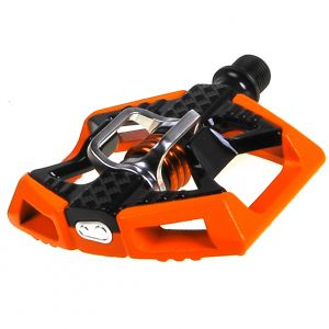 Crank Brothers Doubleshot Pedals Orange/Black/Orange