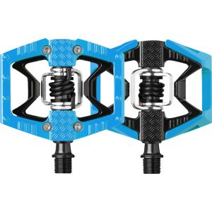 Crank Brothers Doubleshot Pedals Black/Light Blue