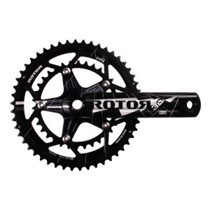 Rotor 3D Crankset with 50/34 NoQ Rings 175mm