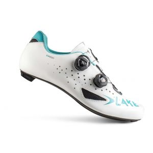 LAKE CX 237 Women's Road Shoe White/Blue 40.5